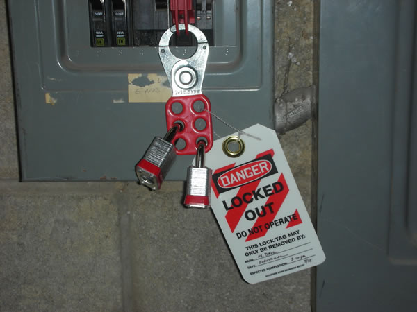 Lockout Tagout Photos